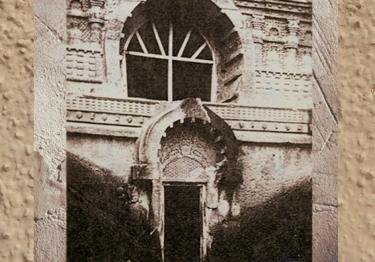 D'après l'entrée de la caverne de Nâsik,Ier siècle apjc, au Mahârâsthra dans le Dekkan,Sud, Inde ancienne. (Marsailly/Blogostelle)