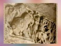 D'après les reliefs d'un monastère rupestre Jaïn, Ier siècle apjc, Orissa, Khandagiri-Udayagiri, Inde du Sud. (Marsailly/Blogostelle)
