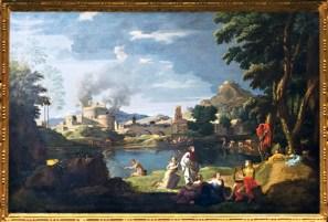 D'après Orphée et Eurydice, Nicolas Poussin, 1650-1653. (Marsailly/Blogostelle)