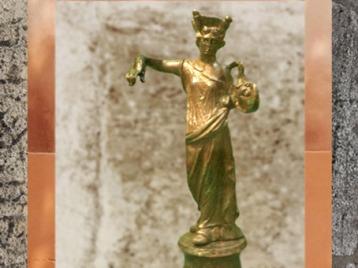 D'après Tutela, déesse protectrice de la ville, bronze, Ier siècle avjc-IVe siècle apjc, Gaule Romaine. (Marsailly/Blogostelle)