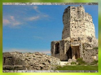 D'après la Tour de Magne de Nîmes, fin Ier siècle avjc - début du Ier siècle apjc, Gaule Romaine, Gard, France. (Marsailly/Blogostelle)