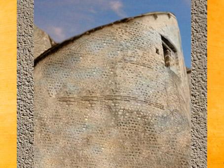 D'après le rempart antique de Bourges, érigé au IVe siècle apjc, Gaule Romaine. (Marsailly/Blogostelle)