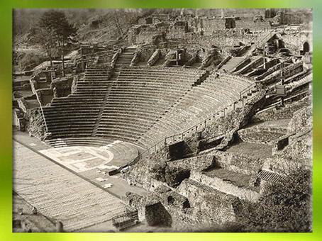 D'après l'amphithéâtre des Trois Gaules, Lugdunum, vers 19 apjc, époque de Tibère, Lyon, Gaule Romaine. (Marsailly/Blogostelle)
