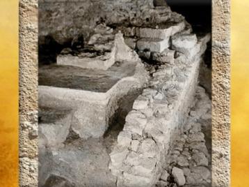 D'après les vestiges d'un quai aménégé, Lutèce, Paris, France, Gaule Romaine. (Marsailly/Blogostelle)