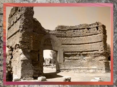 D'après l'exèdre de la Villa Adriana,IIe siècle apjc, Tivoli, Italie, art Romain. (Marsailly/Blogostelle
