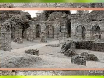 D'après les cryptoportiques antiques de Bavay, Bagacum, Ier - IIIe siècle apjc, Nord, France, Gaule Romaine. (Marsailly/Blogostelle)