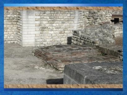 D'après le site antique de Barzan,thermes et système de chaufferie,IIe siècle apjc,Charente-Maritime, France, Gaule Romaine. (Marsailly/Blogostelle)