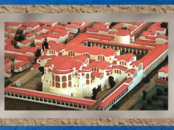 D'après les Thermes de Trèves, construits et remaniés au IVe siècle apjc, Allemagne, époque de la Gaule Romaine. (Marsailly/Blogostelle)