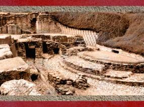 D'après les Thermes antique de Lugdunum, Lyon, Gaule Romaine. (Marsailly/Blogostelle)