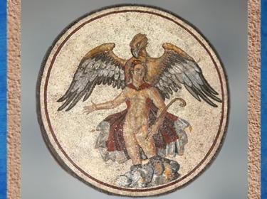 D'après le Rapt de Ganymède, Vienne, Rhône-Alpes, Gaule Romaine, Ier -IVe siècle apjc. (Marsailly/Blogostelle)
