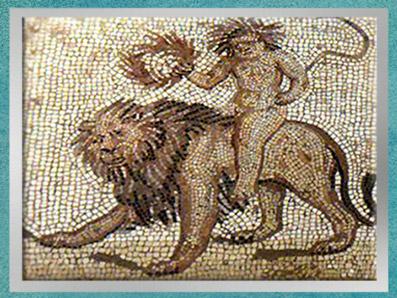D'après l'Eté, mosaïque Saint-Romain-en-Gal, IIIe siècle apjc, Vienne, Rhône-Alpes, Gaule Romaine. (Marsailly/Blogostelle)