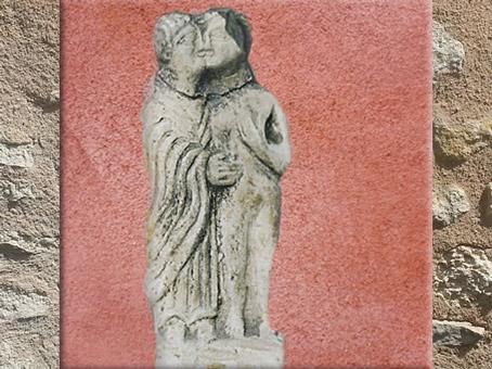 D'après des Amoureux, statuette, terre cuite, Gaule Romaine. (Marsailly/Blogostelle)