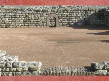 D'après les espaces des thermes, Fâ de Barzan, IIe siècle apjc, Charente Maritime,Gaule Romaine, (Marsailly/Blogostelle)