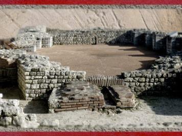 D'après les espaces des thermes, Fâ de Barzan, IIe siècle apjc, Charente Maritime,Gaule Romaine. (Marsailly/Blogostelle)