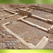 D'après les vestiges de la villa d'Embourie, Charente, France, Ier-IVe siècle apjc, Gaule romaine. (Marsailly/Blogostelle)