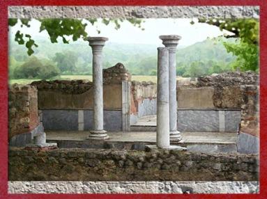 D'après la villa Montmaurin, les thermes, Midi-Pyrénées, IVe siècle apjc, Gaule Romaine. (Marsailly/Blogostelle)