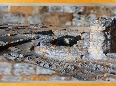 D'après la Villa Saint-Pierre de Vence, vestiges, Bouches-du-Rhône, France, Gaule Romaine. (Marsailly/Blogostelle)