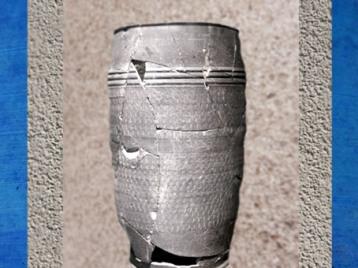 D'après un grand vase, céramique, Barzan, Charente Maritime, Gaule Romaine. (Marsailly/Blogostelle)
