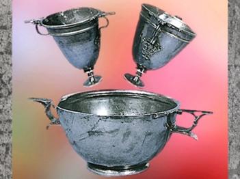 D'après des coupes en argent, Ier siècle avjc-Ier siècle apjc, France,Gaule Romaine. (Marsailly/Blogostelle)