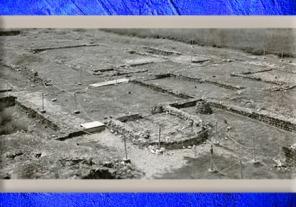 D'après les vestiges devilla de Plassac, Ier - début Ve siècle apjc, Gironde, France,Gaule Romaine. (Marsailly/Blogostelle)