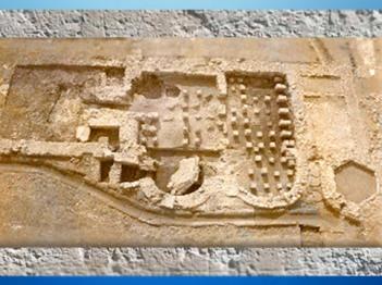 D'après les installations thermales de la Villa de Plassac,Ier - début Ve siècle apjc, Gironde, France,Gaule Romaine. (Marsailly/Blogostelle)