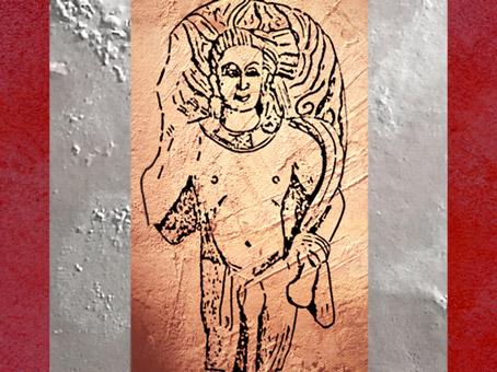 D'après le dieu védique du Feu, Agni, école de Mathurâ, Ier-IIe siécle apjc, Uttar Pradesh, Inde du Nord. (Marsailly/Blogostelle)