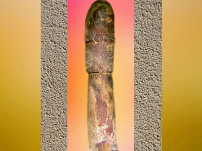 D'après le Linga, symbole de Shiva (Çiva), dynastie Kushâna, Ier- IIIe siècle apjc, école de Mathurâ, Uttar Pradesh, Inde du Nord. (Marsailly/Blogostelle)
