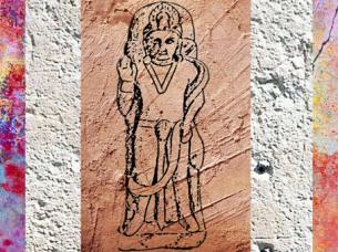 D'après Shiva devant le Linga, école de Mathurâ, Ier- IIe siècle apjc, dynastie Kushâna, Uttar Pradesh, Inde ancienne du Nord. (Marsailly/Blogostelle)