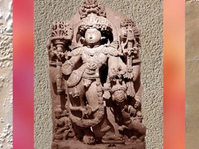 D'après Shiva sous sa forme Terrible, Bhairava, XIIIe siècle apjc, époque Hoysala, Karnataka, Inde médiévale du Sud. (Marsailly/Blogostelle)