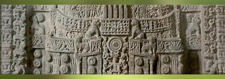 D'après un stûpa sculpté, Amaravatî, image de une, époque Sâtavahâna. (Marsailly/Blogostelle)