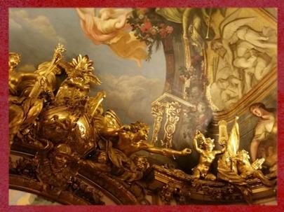 D'après La Galerie Dorée, joyau de l'art Rocaille, Hôtel de La Vrillière-Toulouse, (Banque de France), Paris. (Marsailly/Blogostelle)