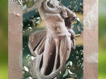 D'après le Roi-Serpent Nâgâ, école de Mathurâ, IIe siècle apjc, Uttar Pradesh. (Marsailly/Blogostelle)