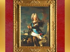D'après un portrait de Louis-Alexandre de Bourbon, comte de Toulouse, par Hyacinthe Rigaud, 1708 apjc. (Marsailly/Blogostelle)