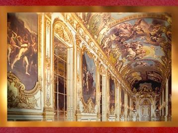 D'après l'enfilade de la Galerie Dorée, Hôtel de Toulouse (Banque de France), Paris, France, XVIIIe siècle. (Marsailly/Blogostelle)