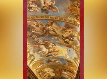 D'après la voûte de François Perrier, Galerie Dorée, Hôtel de Toulouse (Banque de France), Paris, France, XVIIIe siècle. (Marsailly/Blogostelle)