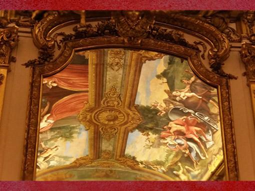 D'après les décors de la Galerie Dorée, Hôtel de Toulouse (Banque de France), Paris, France, XVIIIe siècle. (Marsailly/Blogostelle)