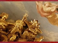 D'après les boiseries sculptées de François-Antoine Vassé, Galerie Dorée, Hôtel de Toulouse, Paris, France, XVIIIe siècle. (Marsailly/Blogostelle)