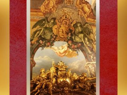 D'après l'Allégorie de la Victoire de la Marine, ouvrage sculpté de François-Antoine Vassé, Galerie Dorée, Hôtel de Toulouse (Banque de France), Paris, France, XVIIIe siècle. (Marsailly/Blogostelle)