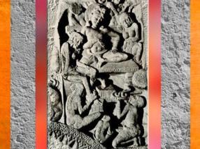 D'après un charmeur de serpent, IIe siècle apjc, Amarâvatî, Andhra Pradesh, Inde du Sud. (Marsailly/Blogostelle)