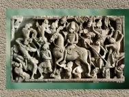 D'après Le Grand Départ, Buddha à cheval, style d'Amarâvatî, IIIe siècle apjc, Andhra Pradesh, Inde du Sud. (Marsailly/Blogostelle)