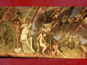 D'après la Galerie Dorée,motifs antiques, François Antoine Vassé, Hôtel de Toulouse,Paris, France, XVIIIe siècle. (Marsailly/Blogostelle)