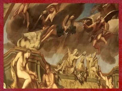 D'après les Eaux du Verseau (le Renouveau), Galerie Dorée,François Antoine Vassé, Hôtel de Toulouse, Paris. (Marsailly/Blogostelle)