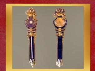 D'après les baromètres d'André-Charles Boulle, vers 1720, Hôtel de Toulouse, Paris. (Marsailly-Blogostelle)