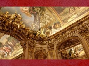 D'après les Ors de la Galerie Dorée, Hôtel de Toulouse (Banque de France), Paris. (Marsailly/Blogostelle)