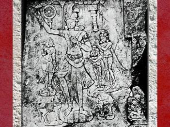 D'après Chakravartin (ouÇakravartin), Souverain Universel, Ier siècle apjc, Ier siècle apjc, dynastie Sâtavahâna, Andhra Pradesh, Inde du Sud. (Marsailly/Blogostelle)