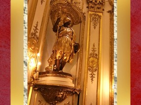 D'après l'Allégorie de l'Europe, XIXe siècle, Galerie Dorée, Hôtel de Toulouse (Banque de France), Paris, France, XIXe siècle. (Marsailly/Blogostelle)
