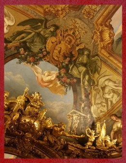 D'après le décor de la Galerie Dorée, Hôtel de Toulouse (Banque de France), Paris. (Marsailly/Blogostelle)