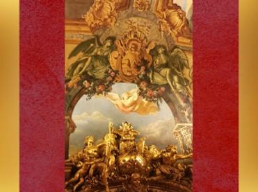 D'après le décor rocaille de la Galerie Dorée, Hôtel de Toulouse (Banque de France), Paris. (Marsailly/Blogostelle)