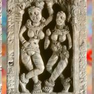 D'après un relief ajouré, ivoire, trésor de Bégram (Afghanistan), Ie siècle apjc, époque Kushâna en Inde du Nord. (Marsailly/Blogostelle)