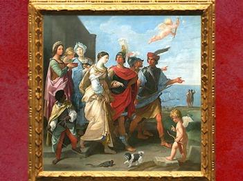 D'après L'Enlèvement d'Hélène, vers 1626 - 1629, Guido Reni, collection de La Vrillière, Paris, France, XVIIe siècle. (Marsailly/Blogostelle)